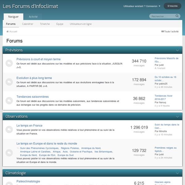 Les Forums d'Infoclimat - Météo en temps réel