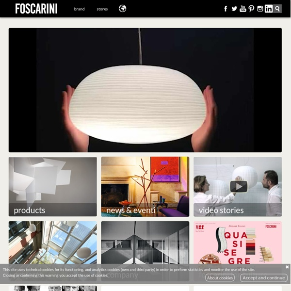 Foscarini – Lamps Lighting and Lightning Design