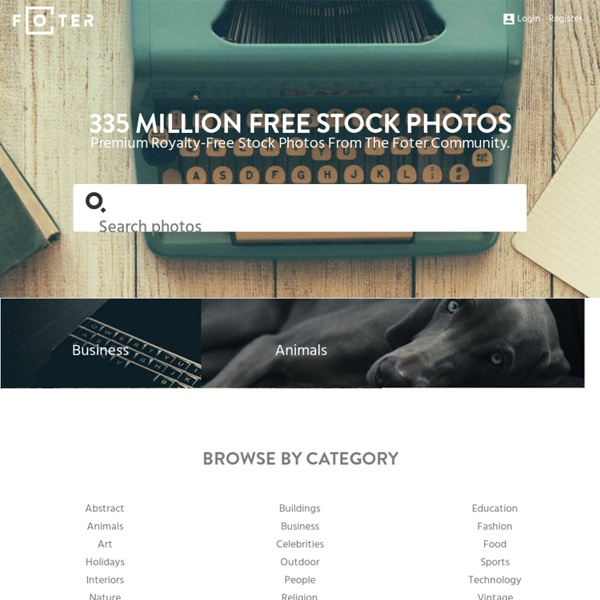 Foter: Free Stock Photos & Images