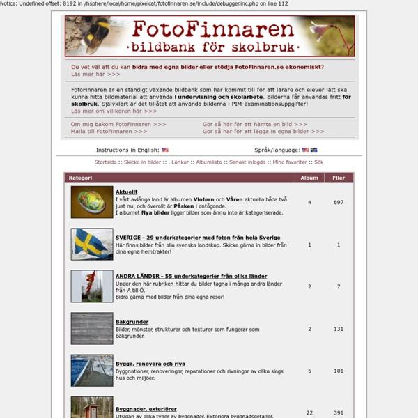 FotoFinnaren.se - Hem