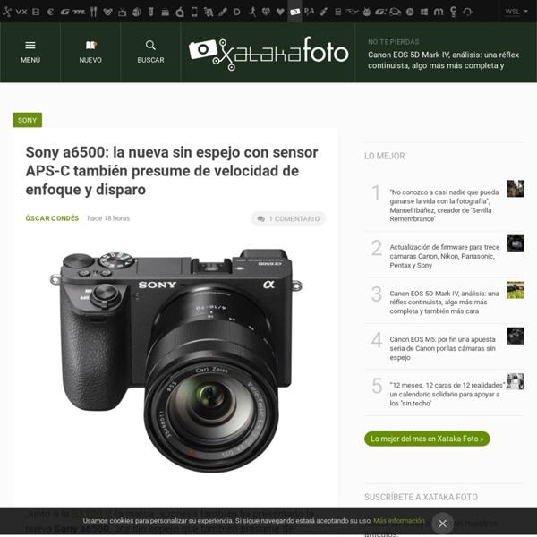 Fotografía y cámaras digitales. Xataka Foto