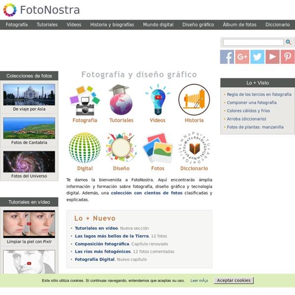 Fotografía digital y diseño gráfico