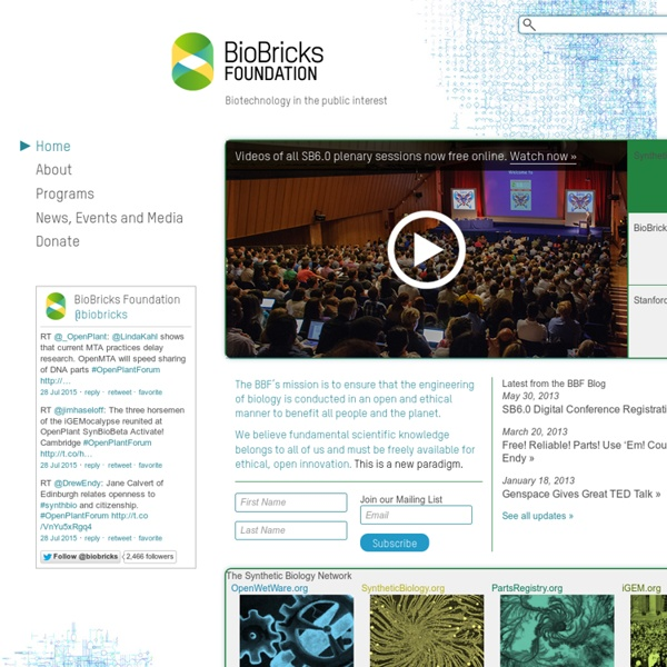 BioBricks Foundation