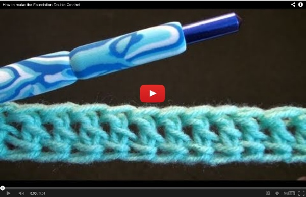 How to make the Foundation Double Crochet