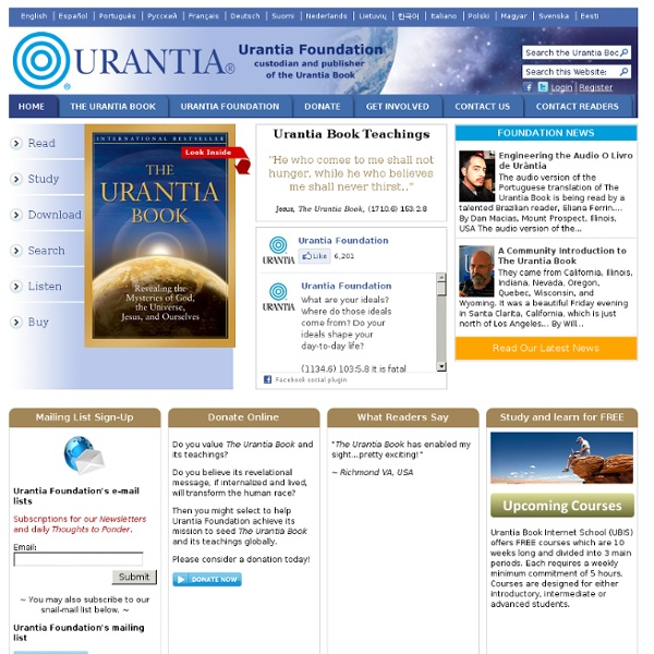 Custodian and Publisher of The Urantia Book since 1955
