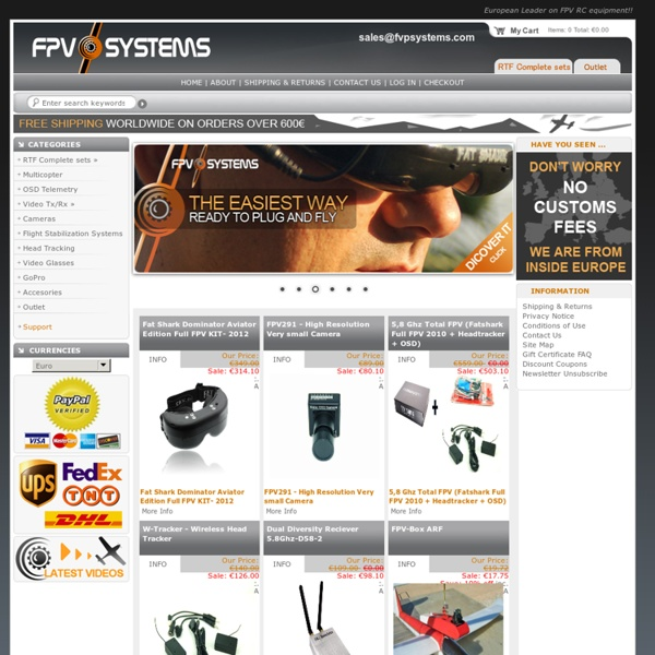 FPVsystems - Online FPV Store, FPVsystems - Online FPV Store