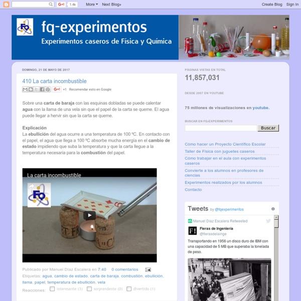 Fq-experimentos