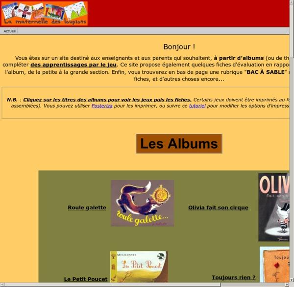 Lamaternelledesloupiots.fr