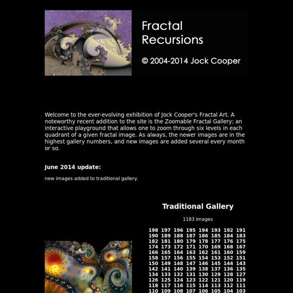 Fractals - Fractal Recursion
