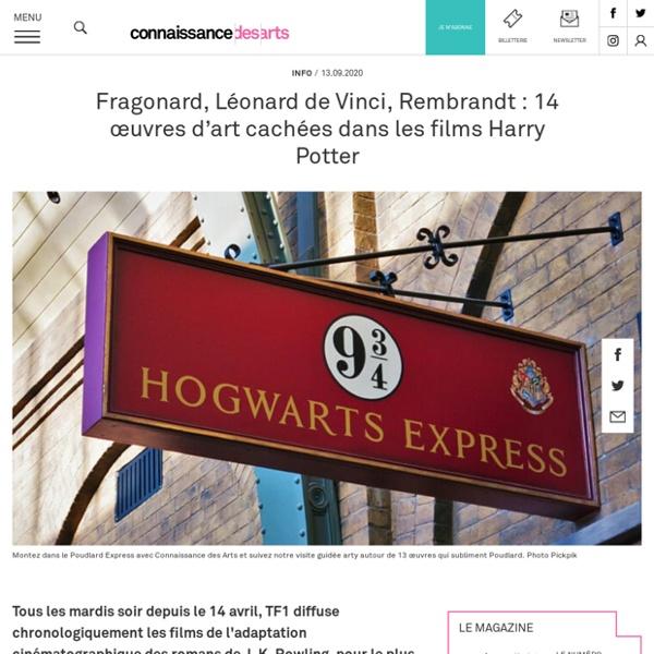 13 œuvres d'art cachées dans les films Harry Potter