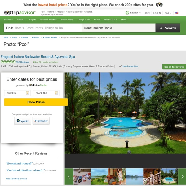 Pool - Picture of Fragrant Nature Backwater Resort & Ayurveda Spa, Kollam - TripAdvisor