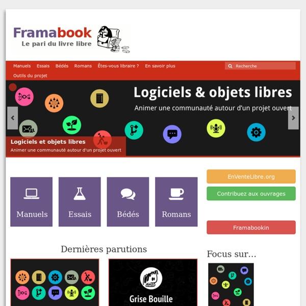 Framabook - Le pari du livre libre
