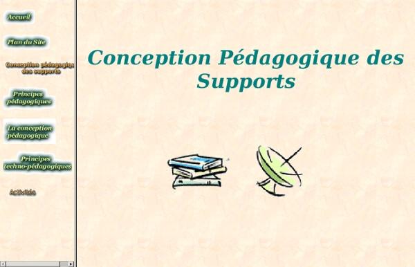 Conception des supports pédagogiques en formation à distance - Université Lille 1