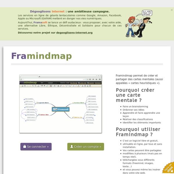 Framindmap - Login