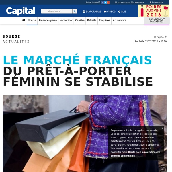 Le marché français du prêt-à-porter féminin se stabilise