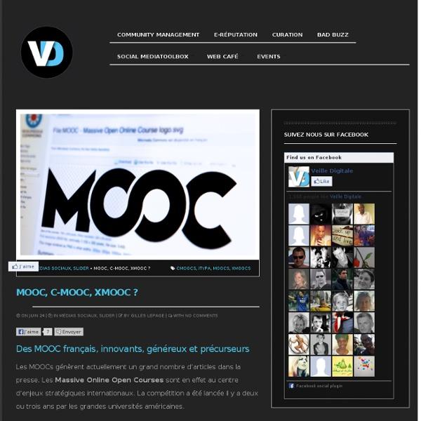 Des MOOC français, innovants, généreux et précurseurs