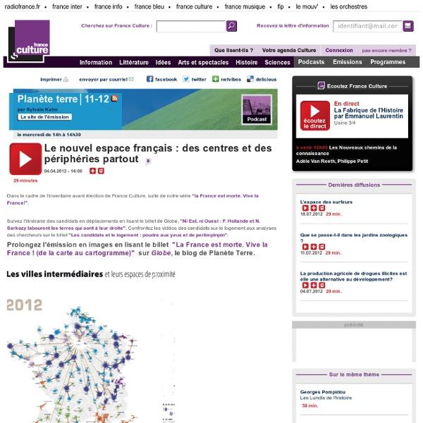 Le nouvel espace français : des centres et des périphéries partout - Sciences