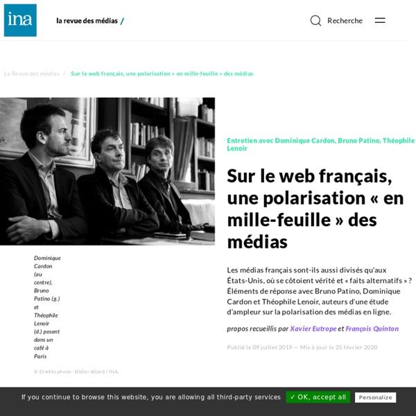 Sur le web français, une polarisation « en mille-feuille » des médias