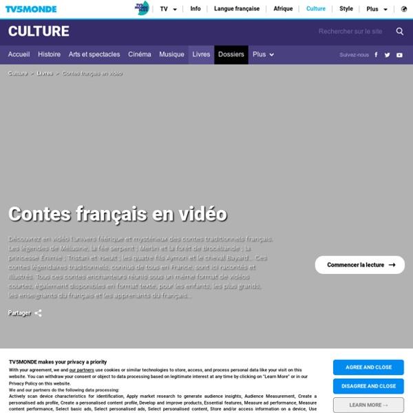 TV5 Monde - Contes français en vidéo