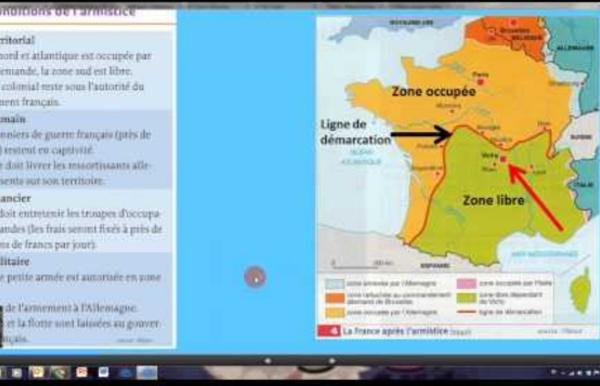3H6 : La France de 1940 à 1946. La défaite de 1940