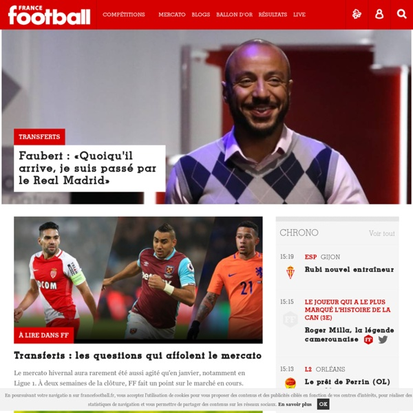 France Football , toute l'actualité du football