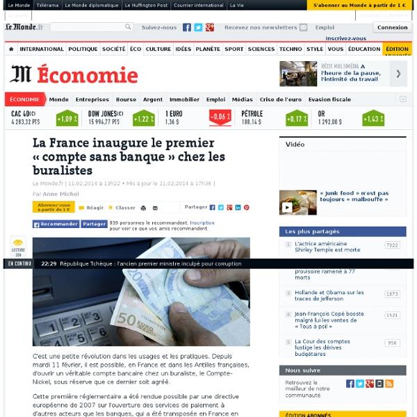 La France inaugure le premier «compte sans banque »
