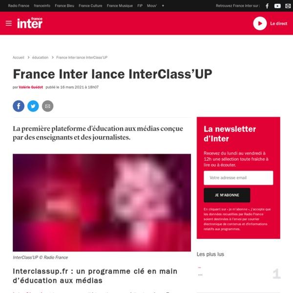 France Inter lance InterClass'UP
