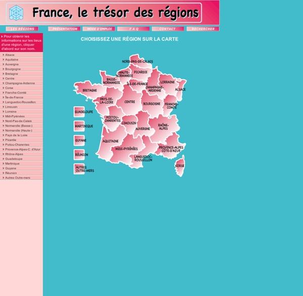 France, le trésor des régions