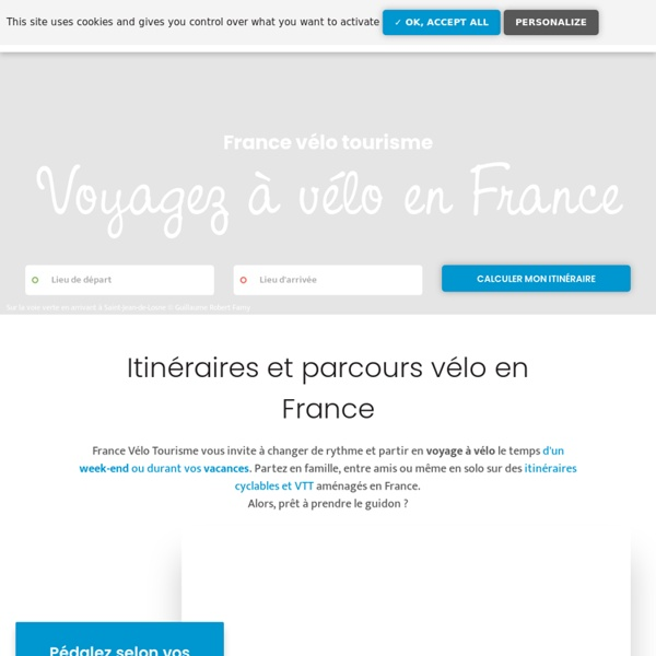 France Vélo Tourisme - Voie vertes et itinéraires à vélo