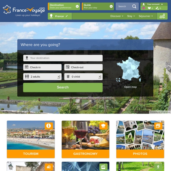 France Voyage - guide, photos, hébergement, tourisme en France