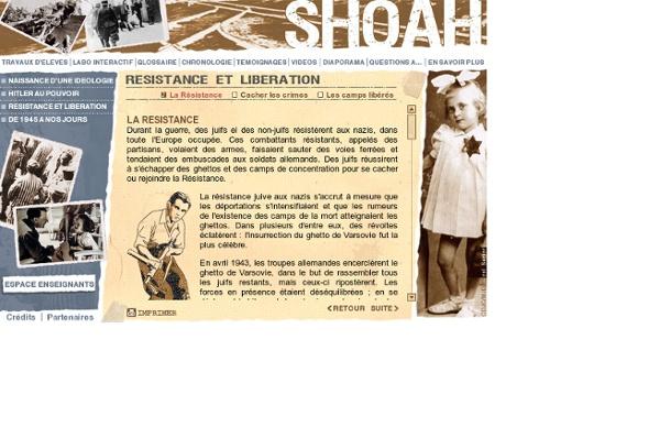 France5 - SHOAH - Résistance et libération : La résistance
