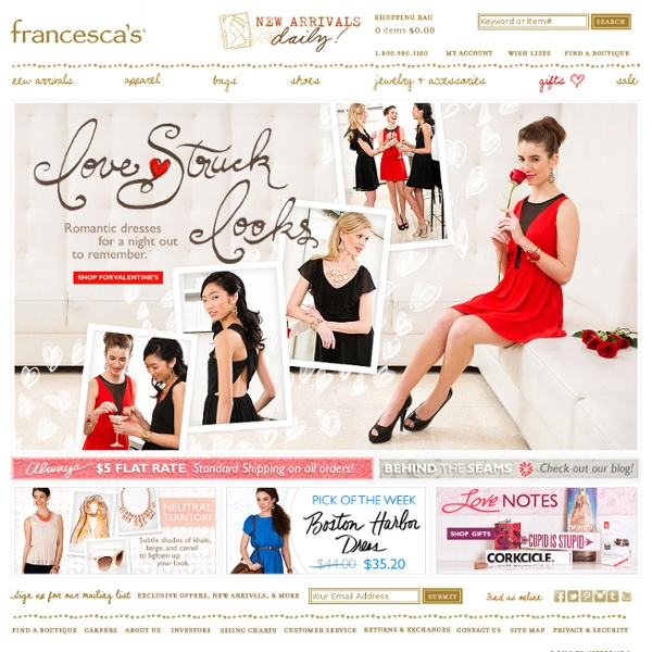 Womens Clothing Stores & Online Boutique - Francescas