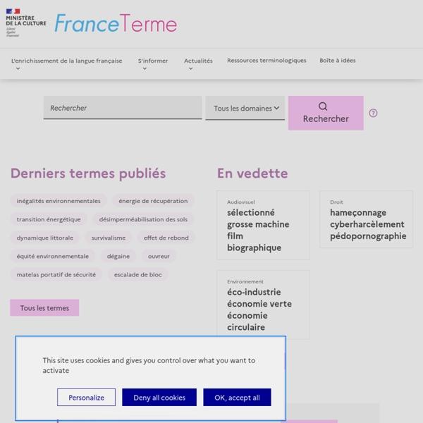 FranceTerme / Ressources