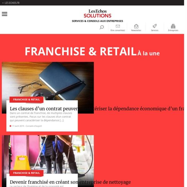 Le marché de l'habillement : les chiffres du secteur, Franchise