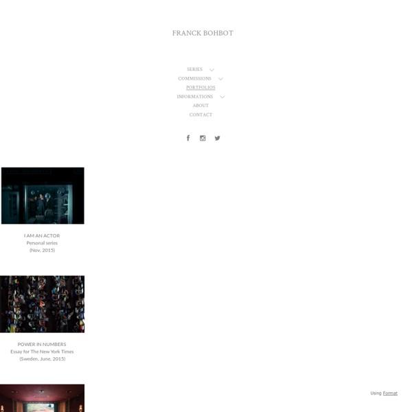 Franck Bohbot's Portfolio - WORKS