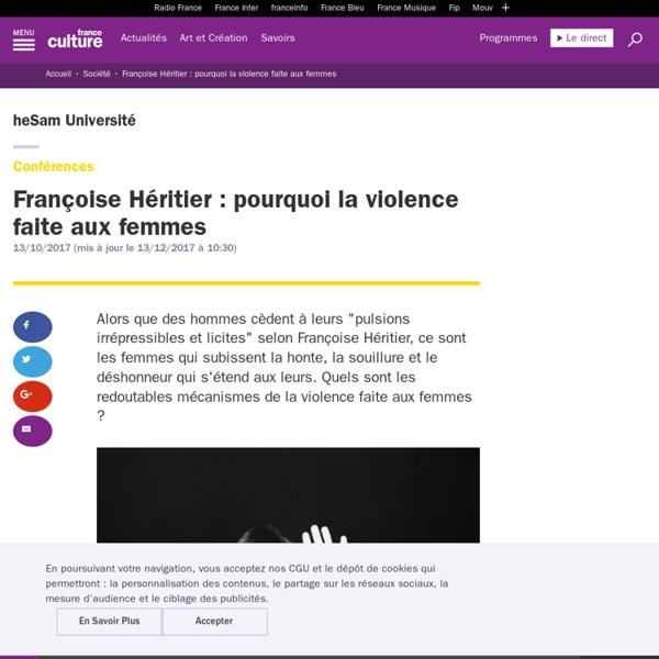Pourquoi la violence faite aux femmes