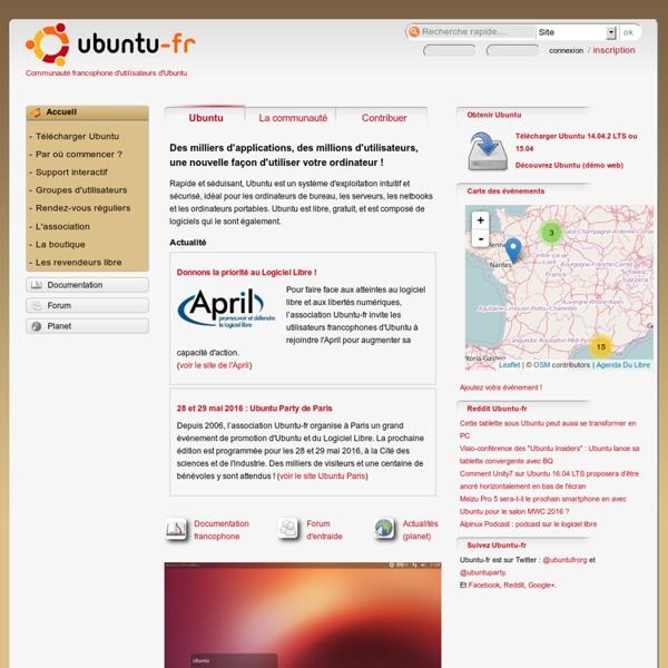Communauté francophone d'utilisateurs d'Ubuntu