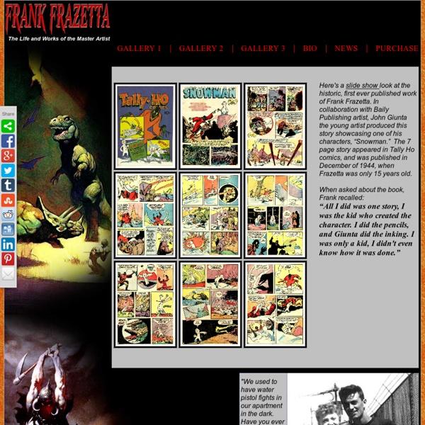 Frank Frazetta Home