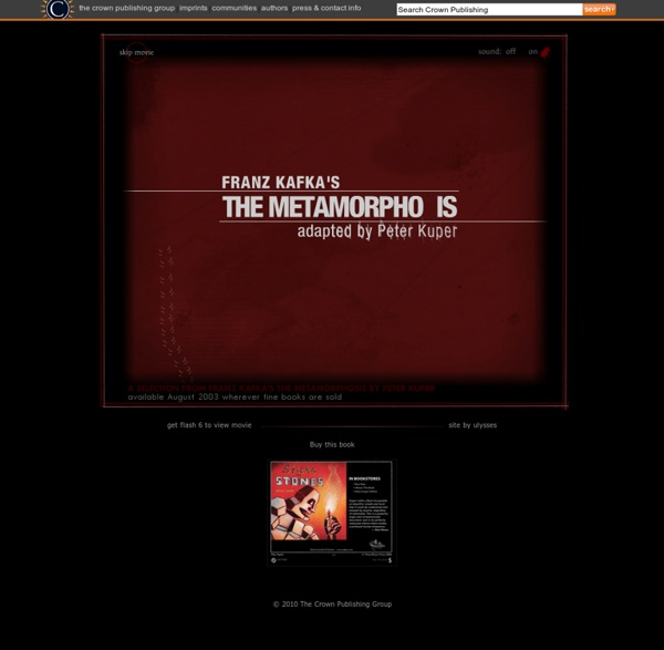 Franz Kafka's THE METAMORPHOSIS adapted by Peter Kuper