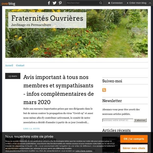 Fraternités Ouvrières - Jardinage en Permaculture