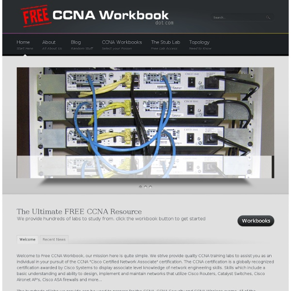 CCNA Labs, Practice Exams and More!