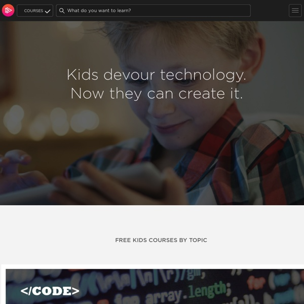 Free coding courses for kids