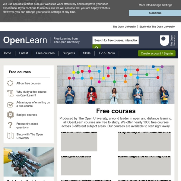 All our free courses