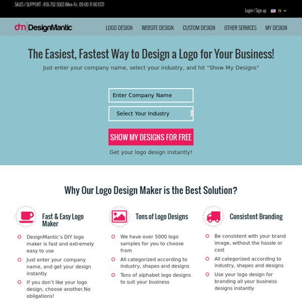 Free Logo Design & Logo Maker By DesignMantic.com
