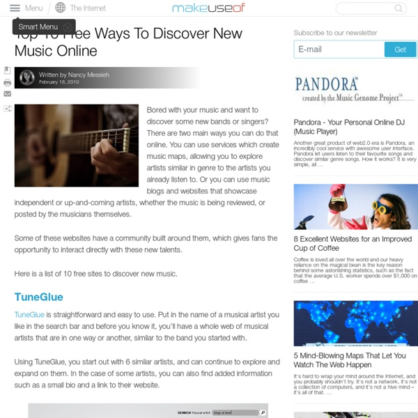 Top 10 Free Ways To Discover New Music Online