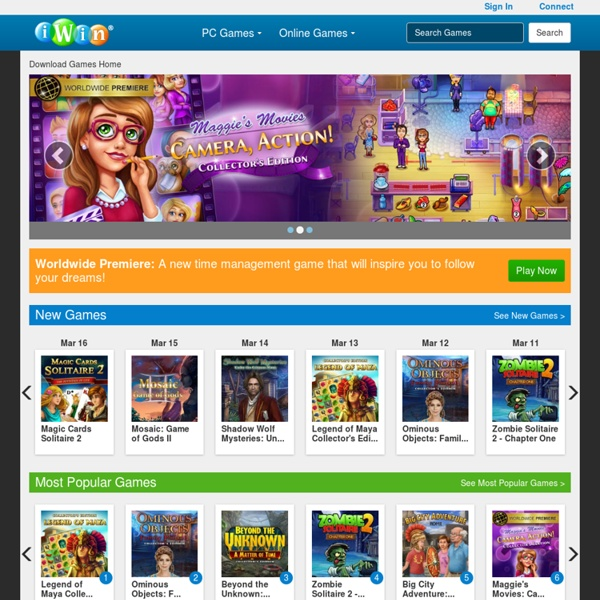 Play Free download games and online games at iWin.com