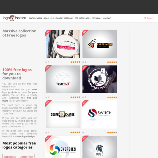 Download Free Web 2.0 Logo Designs