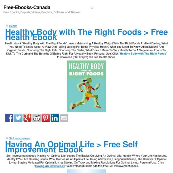 Free Ebooks Canada