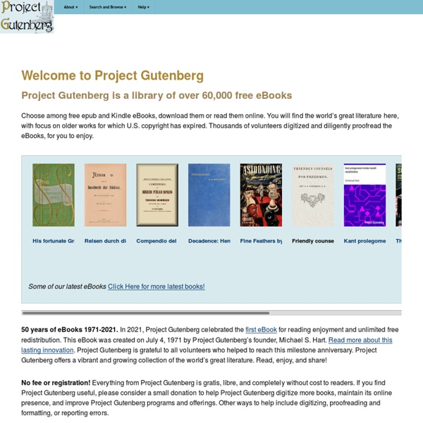gutenberg project audio