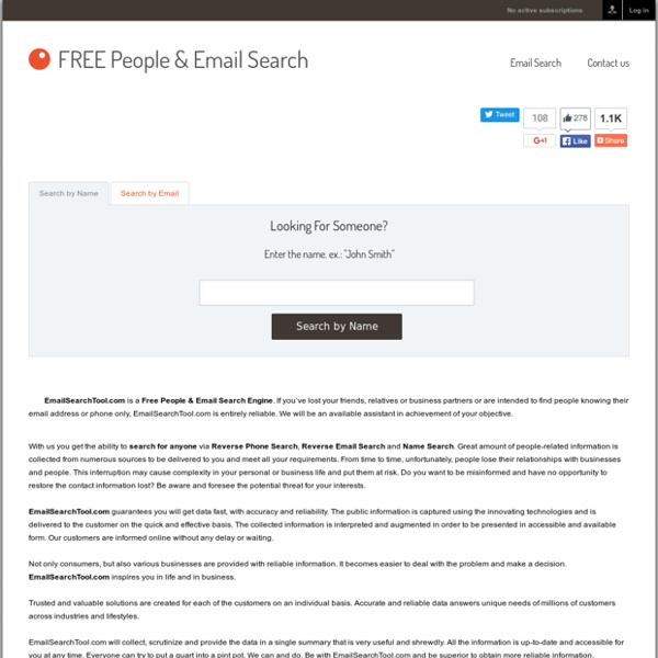 Free Email Search